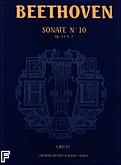 Okładka: Beethoven Ludwig van, Sonate N°10 - URTEXT G-dur Op.14 N°2