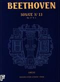 Okładka: Beethoven Ludwig van, Sonate N°13 - URTEXT Es-dur Op.27 N°1