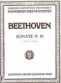 Ok�adka: Beethoven Ludwig van, Sonate N�16 - G-dur Op.31 N�1
