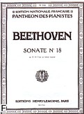Ok�adka: Beethoven Ludwig van, Sonate N�18 - Es-dur Op.31 N�3