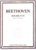 Okładka: Beethoven Ludwig van, Sonate Nr 19 - g-moll Op.49 Nr 1