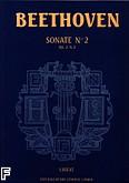 Okładka: Beethoven Ludwig van, Sonate nr 2 - URTEXT A-dur Op. 2 nr 2