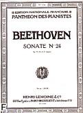 Okładka: Beethoven Ludwig van, Sonate N°24 - Fis-dur Op.78