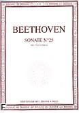 Okładka: Beethoven Ludwig van, Sonate No 25 Op.79 en Sol Majeur