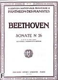 Okładka: Beethoven Ludwig van, Sonate No 26 - en mi bemol majeur, Op.81a