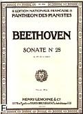 Okładka: Beethoven Ludwig van, Sonate N°28 - A-dur Op.101