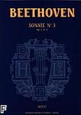 Okładka: Beethoven Ludwig van, Sonate nr 3 - URTEXT C-dur Op. 2 nr 3