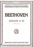 Okładka: Beethoven Ludwig van, Sonate N°30 - E-dur Op.109