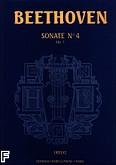 Okładka: Beethoven Ludwig van, Sonate nr 4 - URTEXT Es-dur Op. 7