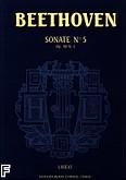 Okładka: Beethoven Ludwig van, Sonate nr 5 - URTEXT c-moll Op.10 nr 1