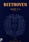 Okładka: Beethoven Ludwig van, Sonate nr 6 - URTEXT F-dur Op.10 nr 2