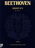 Okładka: Beethoven Ludwig van, Sonate Nr 9 - URTEXT E-dur Op.14 Nr 1