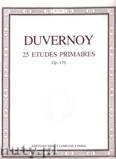 Ok�adka: Duvernoy Jean-Baptiste, 25 Etudes Primaires Op.176