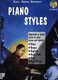 Okładka: Heumann Hans-Günter, Piano Styles (Blues, Boogie, Ragtime, Rock) + CD