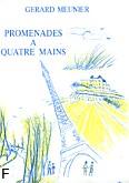 Ok�adka: Meunier Gerard, Promenade a 4 Mains