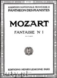 Ok�adka: Mozart Wolfgang Amadeusz, Fantaisie No. 1 - C Major