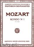 Okładka: Mozart Wolfgang Amadeusz, Rondo Nr 1 - Ré Maj.