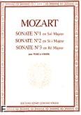 Ok�adka: Mozart Wolfgang Amadeusz, Sonates a 4 Mains Nr 1, Nr 2 et Nr 3