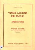 Ok�adka: Roussel Andree, 20 Le�ons de Piano