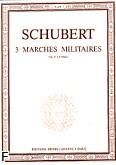 Ok�adka: Schubert Franz, Marches Militaires  Op.51 - 4 Mains