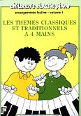 Okładka: , Themes Classiques et Traditionnels Vol.1 - 4 Mains