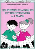 Okładka: Heumann Hans-Günter, Themes Classiques et Traditionnels Vol. 2 - 4 Mains