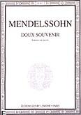 Ok�adka: Mendelssohn-Bartholdy Feliks, Romance N�1 : Doux Souvenir