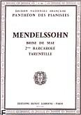 Ok�adka: Mendelssohn-Bartholdy Feliks, Romance N�25 : Brise de Mai