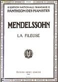 Ok�adka: Mendelssohn-Bartholdy Feliks, Romance N�34 : La Fileuse