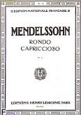 Ok�adka: Mendelssohn-Bartholdy Feliks, Rondo Capriccioso Op.14