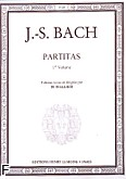 Okładka: Bach Johann Sebastian, Partitas Vol.1