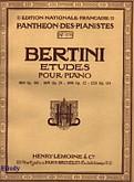 Ok�adka: Bertini Henry, 25 etiud, op.134
