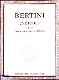 Ok�adka: Bertini Henry, 25 etiud, op. 29 - wst�p Cramer