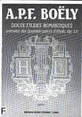 Ok�adka: Bo�ly Alexandre Pierre Fran�ois, 12 Etudes Romantiques Op.13