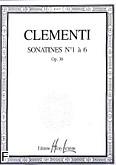 Okładka: Clementi Muzio, Sonatines Op.36