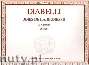 Okładka: Diabelli Antonio, Joies de la Jeunesse Op.163 - 4 Mains