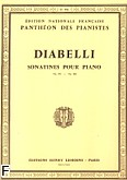 Ok�adka: Diabelli Antonio, Sonatines Op.151,168
