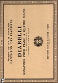 Ok�adka: Diabelli Antonio, Sonatines Op.24, 54, 58, 60 - 4 Mains