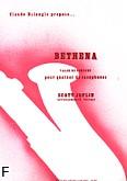 Okładka: Joplin Scott, Bethena Valse de concert - 4 Saxophones