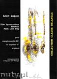 Okładka: Joplin Scott, Elite, Bethena, Palm Leaf Rag - Saxophone alto ou soprano et Piano