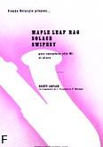Okładka: Joplin Scott, Maple Leaf Rag, Solace, Swipesy