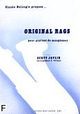 Ok�adka: Joplin Scott, Original Rags - 4 Saxophones