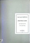 Ok�adka: Campana Jose Luis, Pezzo per Claudio - solo