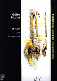 Okładka: Martin Gilles, 18 Duetti - Saxophones