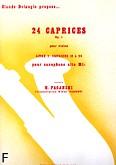 Ok�adka: Paganini Niccolo, Caprices Op.1 No 13 a 24 pour saxophone alto Mib