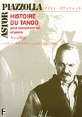Ok�adka: Piazzolla Astor, Histoire du Tango pour saxophone sib et piano