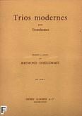 Ok�adka: Dhellemmes Raymond, Trios Modernes pour Trombones