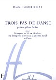 Okładka: Berthelot Rene, Trois Pas de Danse