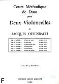 Ok�adka: Offenbach Jacques, Cours Duos Violoncelles, Op.52 Livre 3