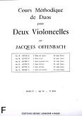 Okładka: Offenbach Jacques, Cours Duos Violoncelles, Op.54 Livre 2